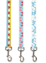 East Side Collection Fruit Frenzy Dog Leads Lead Leash Pet Cherry Hibiscus - $11.99+