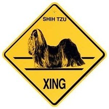 Shih Tzu  Xing Sign Dog Crossing NEW - $7.25