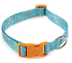 Blooming Brights Dog Collar Nylon Flowers Pet C... - $6.99 - $10.99