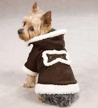 Hooded Sherpa Coat Dog Jacket Pet coat w/ hood XXS-XL - $18.99+