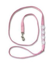 Doggles Dog Leash Lead 4 foot pink - $12.64