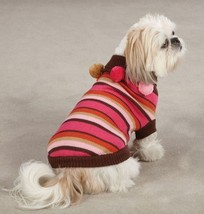 East Side Collection Spirit Stripe  Pet Dog Knit Sweater XS S S/M M L XL  Top - $18.50+