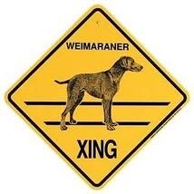 Weimaraner  Xing Sign Dog Crossing NEW - $7.25