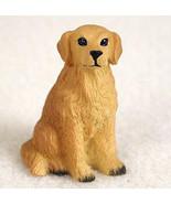GOLDEN RETRIEVER TINY ONES DOG Figurine Statue Pet Lovers Gift Resin - $8.99