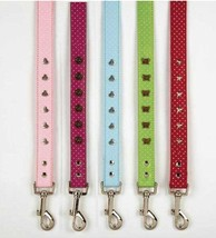 Canine Charmers Dog Leash Lead Pet 4 foot 6 foot East Side Collect Leads Leashes - $13.99+