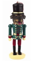 ROTTWEILER  DOG CHRISTMAS ORNAMENT NUTCRACKER SOLDIER HOLIDAY XMAS 5 inch - $12.18