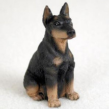 DOBERMAN PINSCHER (BLACK CROPPED) TINY ONES DOG... - $8.99