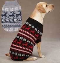East Side Collection Caribou Creek Dog Turtleneck Sweater Pet Black Gray XXS-XL - $18.50+