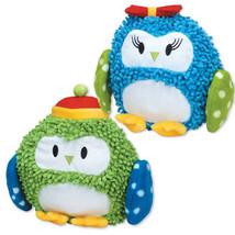 Zanies North Pole Pals Moppy Dog Toys Pet Toy Owl Plush GRUNTER CRINKLE ... - £9.28 GBP