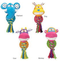Grriggles FUNdamentals Bounce Buddies Dog Toys Ball  Toy Pet  Squeaker - £8.57 GBP