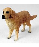 GOLDEN RETRIEVER DOG Figurine Statue Hand Painted Resin Gift Pet Lovers - $15.66