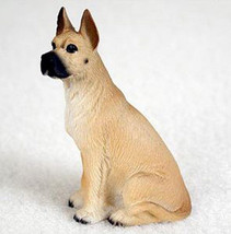Great Dane (Fawn Cropped Ears) Tiny Ones Dog Figurine Statue Pet Gift Resin - $8.99