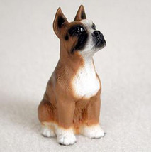Boxer (Cropped Ears) Tiny Ones Dog Figurine Statue Pet Lovers Gift Resin - $8.99