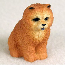 Chow (Red)  Tiny Ones Dog Figurine Statue Resin Pet Lovers Gift - $8.99