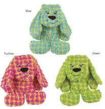 Grriggles Checker Charlie Dog Toy Plush Stuffed Stuffie - £6.79 GBP