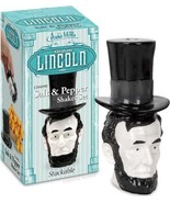Lincoln salt and pepper shakers - $14.85