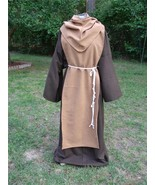Monk Friar Tuck Sm up to 3x - Brown with Tan - $75.00