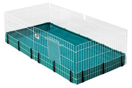 Pet Cage Habitat Interactive Expandable Guinea Pig Hamster Rabbit Animal... - $79.99