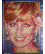 Buffalo Games Jigsaw Puzzle Diana Princess Of Wales Photomosaics Sealed in Box - $12.99