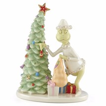 Lenox Grinch Christmas Crook Figurine Dr Seuss Thief Stealing Tree How S... - $101.38