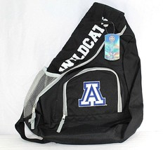 University of Arizona Wildcats Sling Backpack Teardrop Black/Silver Coll... - ₹2,488.38 INR