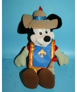 """11"""" Disney MICKEY MOUSE ROBIN HOOD The Escape Plush Feather Hat Soft Toy... - $19.32"""