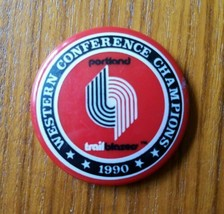 Portland Trail Blazers 1990 Western Conference Champions Magnet NBA Off ... - $9.74