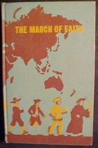 The March of Faith by Inez Steen;School Reader Grade 6-Lutherans;1939 HC; - $9.97