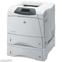HP Laserjet 4300DTN Monochrome Workgroup Laser ... - $199.74