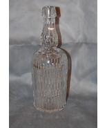 American Victorian Cut Glass Bar Bottle - $295.00