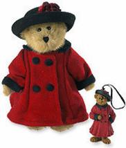 """Boyds Bear """"Bailey In England""""-8"""" QVC -Bear & Ornament- #99115V~NWT-2005-Retired - $49.99"""
