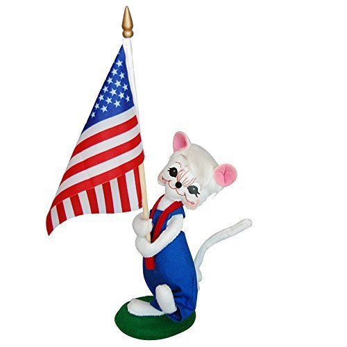 Annalee - 6in Patriotic Parade Mouse [Kitchen]