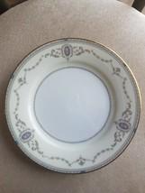 Vintage Japan China Noritake 6PC Lot 5 3/8 Plates Sutherland Pattern Gold Trim - $21.73