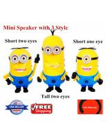 Despicable Me 2 Minion Movie Character Portable Mini Speaker FM Radio US... - $18.99