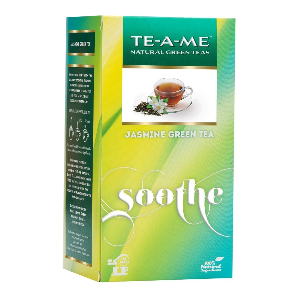 Primary image for TE-A-ME Jasmine Green Tea, 25 Piece(s)/Pack Jasmine