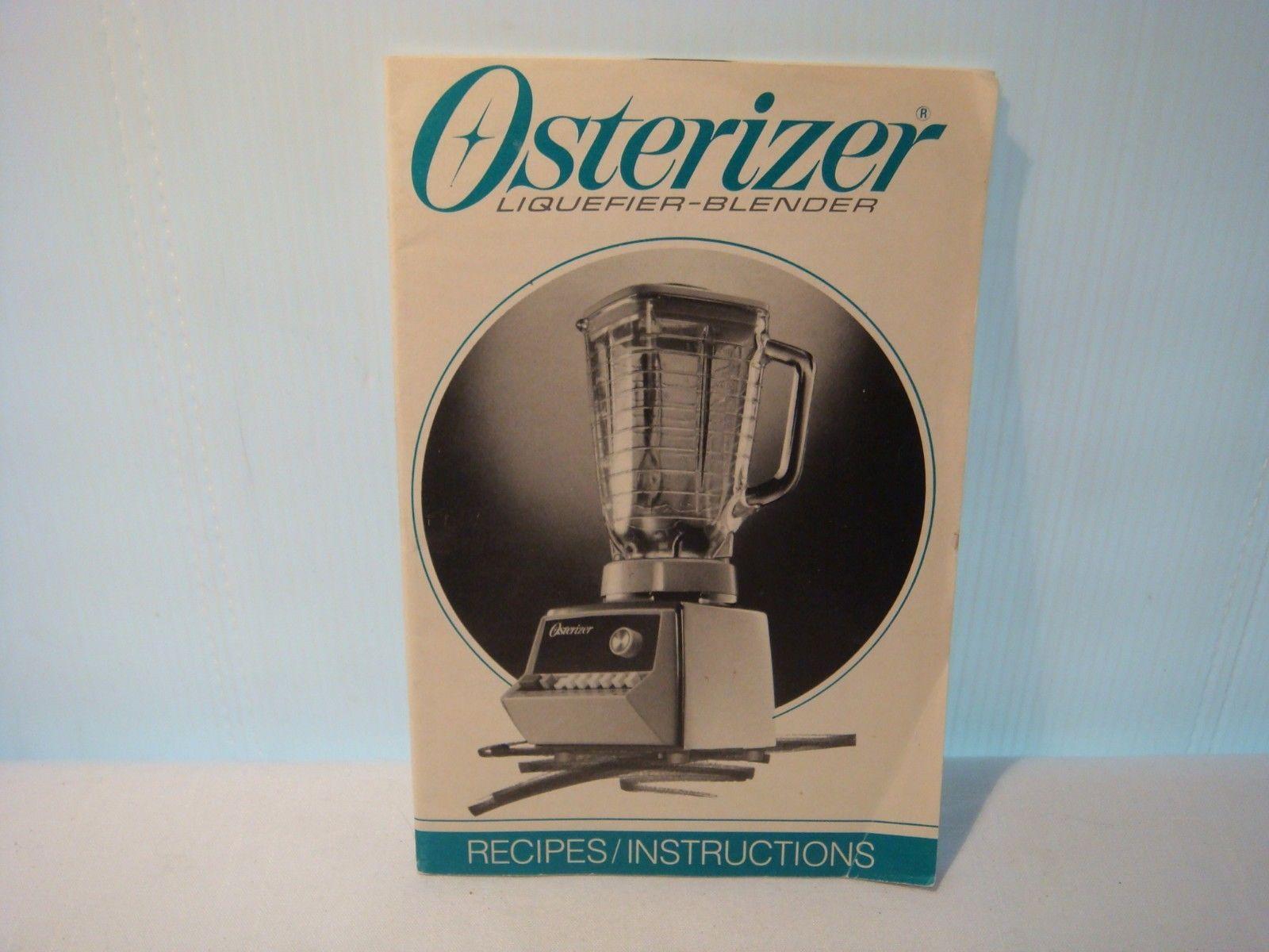 Osterizer blender instructionrecipe manual and 50 similar items osterizer blender instructionrecipe manual 1991 810 12 14 16 speed blenders fandeluxe Images