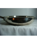"WOLFGANG PUCK 8"" SKILLET PAN  STAINLESS STEEL INCREDIBLE COOKWARE - $21.95"
