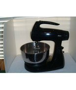 OSTER COUNTERTOP STAND MIXER BLACK MODEL NO. 100271 - $69.95