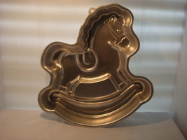 "WILTON ROCKING HORSE CAKE PAN 1984 # 2105-2388 ""OF COURSE IT'S A WILTON"" - $21.95"