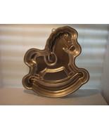 """WILTON ROCKING HORSE CAKE PAN 1984 # 2105-2388 """"OF COURSE IT'S A WILTON"""" - $21.95"""