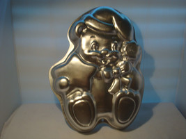 "WILTON XMAS TEDDY BEAR CAKE PAN 1998 # 2105-3314 ""OF COURSE IT'S A WILTON"" - $16.95"