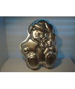 "WILTON XMAS TEDDY BEAR CAKE PAN 1998 # 2105-3314 ""OF COURSE IT'S A WILTON"" - $16.95"