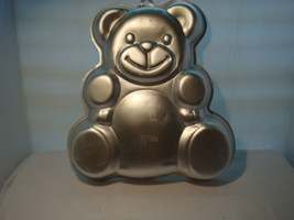 "WILTON Just a TEDDY BEAR CAKE PAN 2002 # 2105-4943 ""OF COURSE IT'S A WIL... - $14.95"