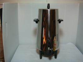 "Vintage Westbendelectric 18 Cup Coffee Percolator Catalogue No. 7488469 ""Sleek"" - $39.95"