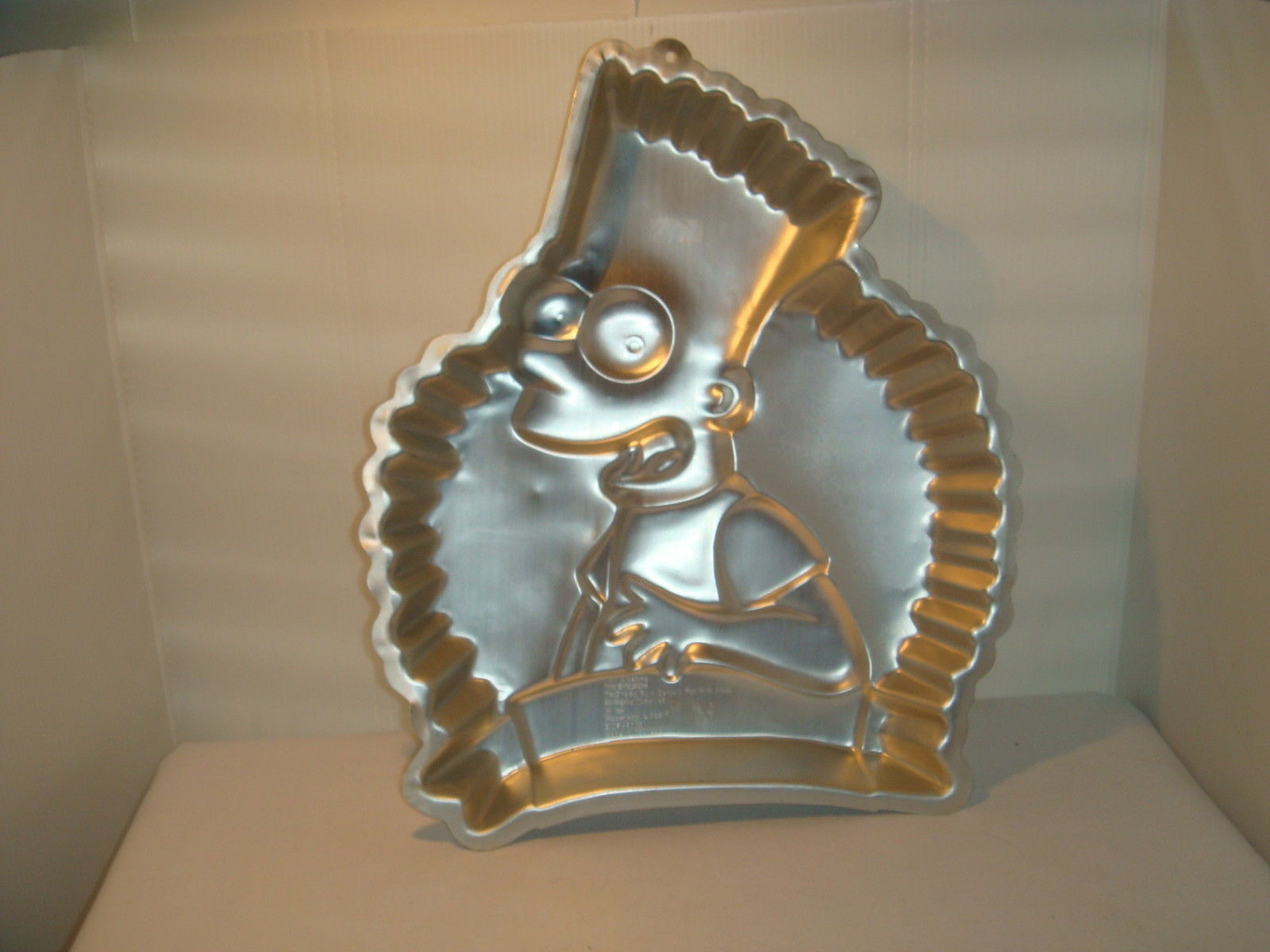 Primary image for WILTON BART SIMPSON 1990 CAKE PAN ALUMINUM # 2105 - 9002  20TH CENTURY FOX