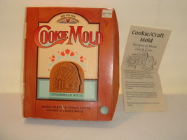 HANDCRAFTED TERRA COTTA GINGERBREAD HOUSE COOKIE & CRAFT MOLD - $15.16