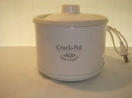 "RIVAL CROCK-POT STONEWARE SLOW COOKER ""LITTLE DIPPER"" MODEL 33041 APPETI... - $18.95"