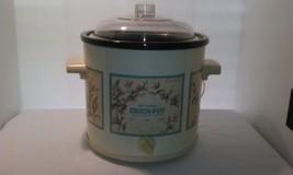 VINTAGE RIVAL CROCK-POT STONEWARE SLOW COOKER 1970'S MODEL 3100 3.5 QTS. - $23.95