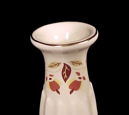 Autumn Leaf china Fluted Bud Vase Jewel T Tea Nalcc Dinnerware