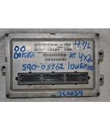 56040430AG 00 DODGE DAKOTA ENGINE ECM AT,4X2,4.... - $99.00
